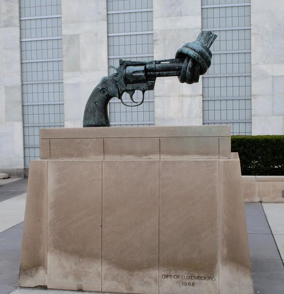 At the U.N.