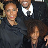 Dec. 9th, 2008, New York City,<br /> Proud parents Will Smith and <br /> Jada Pinkett Smith<br /> pose with the youngest actor in the family<br /> Jaden Smith<br /> Red Carpet Arrivals<br /> 'The Day the Earth Stood Still' New York Premiere<br /> (Credit Image: © Chris Kralik/KEYSTONE Press)