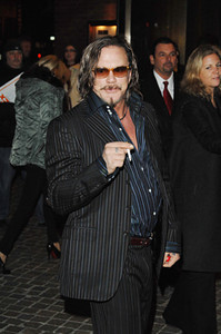 "Dec. 8th, 2008, New York City,<br /> The unrepentant Mickey Rourke<br /> The Cinema Society and Entertainment Weekly Host <br /> Darren Aronofsky's ""The Wrestler""<br /> (Credit Image: © Chris Kralik/KEYSTONE Press)"