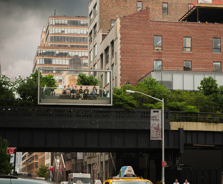 What we look like when we're up on the High Line
