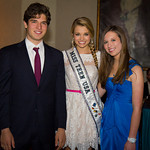 Justin Galloway (NMA Teen Health Advocate) (NMA Teen Health Advocate), Danielle Doty (Miss Teen USA), Alana Galloway (NMA Teen Health Advocate) (NMA Teen Health Advocate)