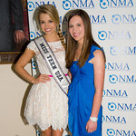 Danielle Doty (Miss Teen USA), Alana Galloway (NMA Teen Health Advocate)