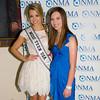Danielle Doty (Miss Teen USA), Alana Galloway (NMA Teen Health Advocate)