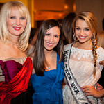 Sara Herbert Galloway, Alana Galloway (NMA Teen Health Advocate), Danielle Doty (Miss Teen USA)