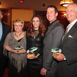 Honorees Senator Jack Hart, Cindy Krejny, Samantha Busch, Kyle Busch, and Dr. William Schaffner