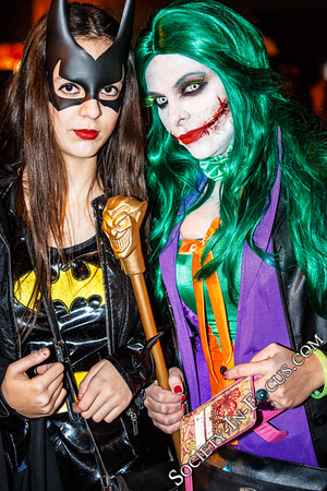 Batgirl and Joker