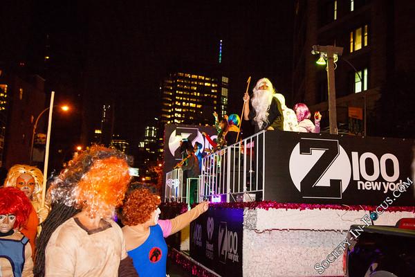 Z100 Halloween Parade Float