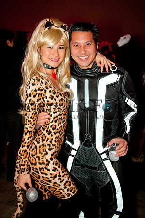 Leopard and Tron guy
