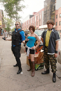 Albert Wesker, Jill Valentine, & Leon Kennedy