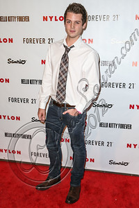 WEST HOLLYWOOD, CA - OCTOBER 15:  Actor Drew Osborne arrives at Nylon's October IT Issue and launch of the Hello Kitty and Forever 21 collaboration at The London West Hollywood on October 15, 2012 in West Hollywood, California.  (Photo by Chelsea Lauren/WireImage)