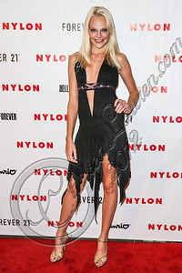 WEST HOLLYWOOD, CA - OCTOBER 15:  Model Britni Stanwood arrives at Nylon's October IT Issue and launch of the Hello Kitty and Forever 21 collaboration at The London West Hollywood on October 15, 2012 in West Hollywood, California.  (Photo by Chelsea Lauren/WireImage)