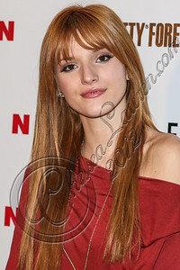 WEST HOLLYWOOD, CA - OCTOBER 15:  Actress Bella Thorne arrives at Nylon's October IT Issue and launch of the Hello Kitty and Forever 21 collaboration at The London West Hollywood on October 15, 2012 in West Hollywood, California.  (Photo by Chelsea Lauren/WireImage)