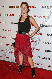 WEST HOLLYWOOD, CA - OCTOBER 15:  Actress Virginia Welch arrives at Nylon's October IT Issue and launch of the Hello Kitty and Forever 21 collaboration at The London West Hollywood on October 15, 2012 in West Hollywood, California.  (Photo by Chelsea Lauren/WireImage)