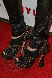 WEST HOLLYWOOD, CA - OCTOBER 15:  Actress Bella Thorne (shoe detail) arrives at Nylon's October IT Issue and launch of the Hello Kitty and Forever 21 collaboration at The London West Hollywood on October 15, 2012 in West Hollywood, California.  (Photo by Chelsea Lauren/WireImage)