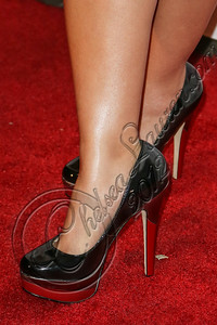 WEST HOLLYWOOD, CA - OCTOBER 15:  Actress Cassie Steele (shoe detail) arrives at Nylon's October IT Issue and launch of the Hello Kitty and Forever 21 collaboration at The London West Hollywood on October 15, 2012 in West Hollywood, California.  (Photo by Chelsea Lauren/WireImage)