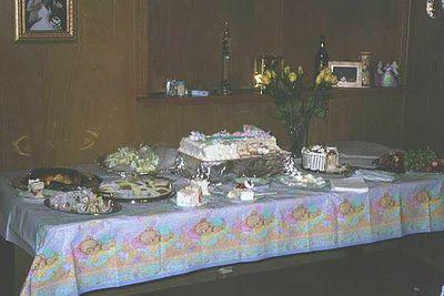 Nadia's baby shower for Nina: 2001