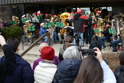 Tuba Christmas - Ron Keller Conductor - Naperville, Illinois - December 6, 2014