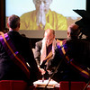 "Naropa President Charles G. Lief  performs the Execution of the Stroke of Ashe during the swearing in ceremony.<br /> Naropa University celebrated the presidential inauguration of Charles G. Lief on Saturday at the Nalanda Campus.<br /> For  more photos and a  video of the ceremony,  go to  <a href=""http://www.dailycamera.com"">http://www.dailycamera.com</a>.<br />  Cliff Grassmick  / February 16, 2013"