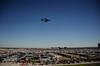 b-52 bomber over Texas Motor Speedway.