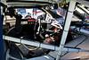 Cockpit of McDowell's car.