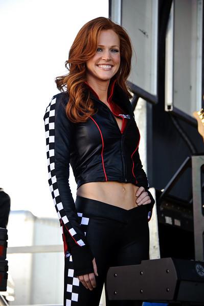 NASCAR model.
