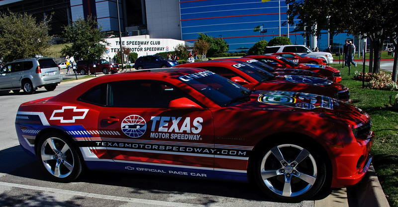 The pace cars.
