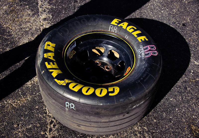 NASCAR tire.