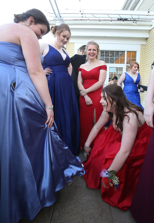 . Nashoba Tech prom at Devens. (SUN/Julia Malakie)