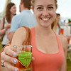 Heather Cormier, of Fitchburg, samples some of the beer on tap at the Nashua River Brewer's Festival, held on Saturday afternoon at Riverfront Park in Fitchburg. SENTINEL & ENTERPRISE / Ashley Green