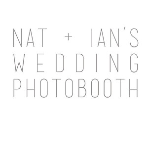 Natalie and Ian's Wedding Photobooth