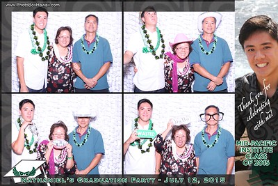 Nate's Grad Party