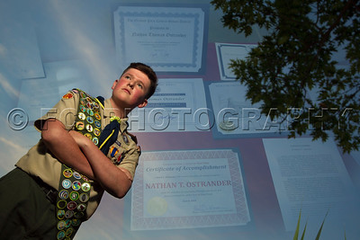 Nathan's Eagle Scout ceremony