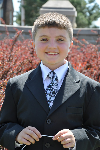 Nathan's First Communion
