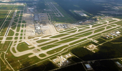 A backward look at Bush Intercontinental Airport