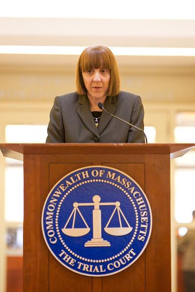 Carol Erskine, First Justice, Worcester County Juvenile Court