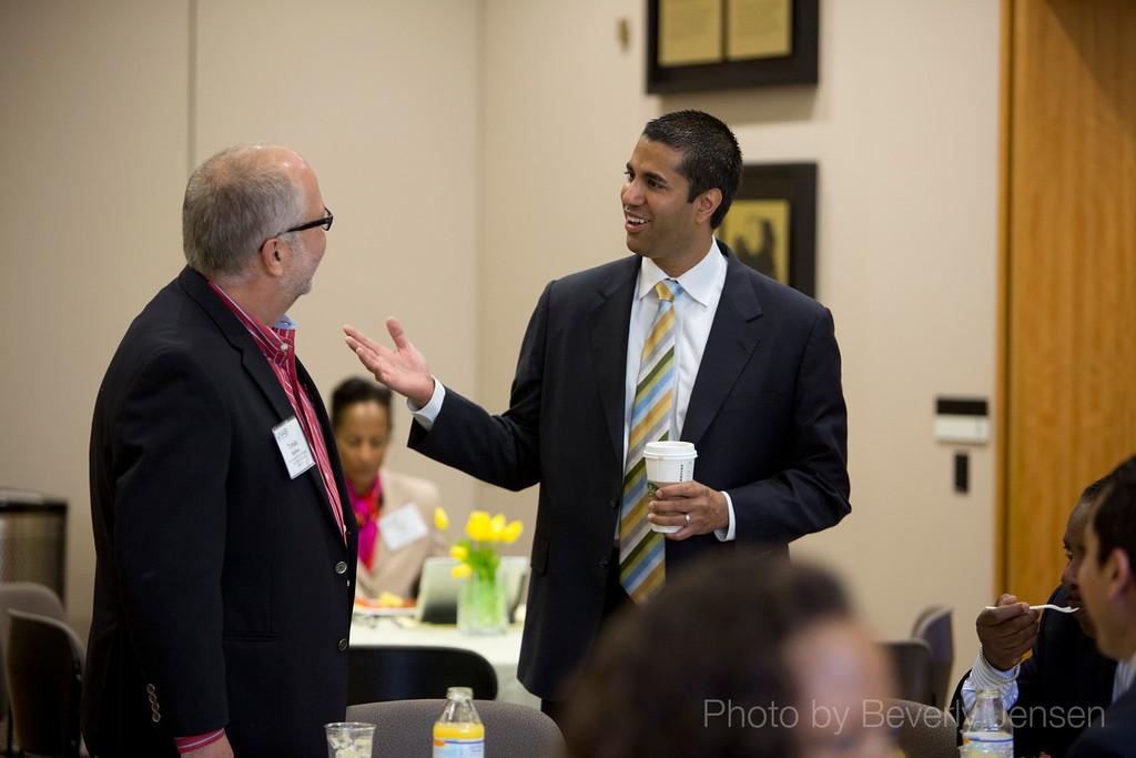 FCC Commissioner Ajit Pai visit  Broadcast Leadership Training 2013