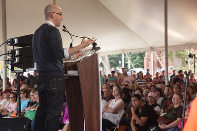"What's Brad Meltzer's advice to budding writers? ""Don't let anyone tell you no. I got 24 rejection letters on my first novel. It's still sitting on my shelf, published by Kinko's. I had 24 people tell me to give it up, that I couldn't write. But the day I got my 23rd and 24th rejection, I said to myself, 'If they don't like this novel, I'll write another, and if they don't like that one, I'll write another.' Why? Because I fell in love with writing. A week later, I started the book that became 'The Tenth Justice,'"" which was an instant New York Times best-seller. Since then, Meltzer has had nothing but success. His new thriller is ""The Fifth Assassin"" (Grand Central/Hachette)."