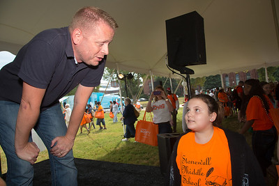 "Author Patrick Ness  talks to Jamie -11 from Stonewall Middle School Patrick Ness was born at Fort Belvoir, Va., but now lives in London. He has never wanted to be anything but a writer. He writes about 1,000 words per day, ""even if it only took an hour."" He is well-known for his ""Chaos Walking"" trilogy: ""The Knife of Never Letting Go,"" ""The Ask and the Answer"" and ""Monsters of Men."" In his new novel, ""More Than This"" (Candlewick), a boy drowns but then wakes, seemingly still alive and not knowing where he is or how he got there."