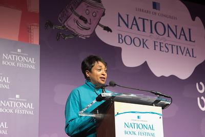 Carla Hayden, National Book Festival