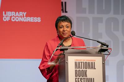 Carla Hayden; Library of Congress National Book Festival