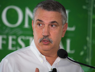 "Thomas Friedman Three-time Pulitzer Prize winner Thomas L. Friedman writes a syndicated column for The New York Times. His book ""Hot, Flat and Crowded"" was an international best-seller. He has worked for The Times since 1981 and a year later was appointed Beirut bureau chief, six weeks before the Israeli invasion of Lebanon. His column on foreign affairs began in 1995. His 2005 book, ""The World Is Flat: A Brief History of the Twenty-First Century,"" was a No. 1 New York Times best-seller and has sold more than 4 million copies. His new book, the best-seller ""That Used to Be Us: How America Fell Behind in the World It Invented and How We Can Come Back"" (Picador), was written with Johns Hopkins University professor Michael Mandelbaum."