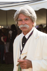 Mark Twain (a.k.a. Bryan Healy) representing the LOC's Books that Shaped America exhibition