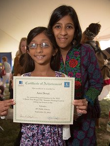 "Winners of ""A Book that Shaped Me"" Summer Writing Contest with DC Public Library"