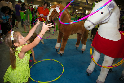 Grace-6-1/2yrs  Frederick, Md  with Wells Fargo Horses