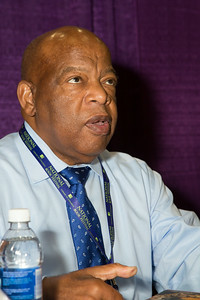 "John Lewis has served as the U.S. States representative for Georgia's 5th Congressional District since 1987. He is senior chief deputy whip for the Democratic Party. Rep. Lewis had been serving America long before his congressional career began, as he is revered as a major civil rights icon, lending his resounding moral voice to the cause for more than 50 years. He was a key player in the movement to end racial discrimination and segregation as chairman of the Student Nonviolent Coordinating Committee. In the first book of his graphic memoir trilogy, ""March"" (Top Shelf Productions), published with co-writer Andrew Aydin and New York Times best-selling artist Nate Powell, Rep. Lewis recounts his lifelong struggle for civil and human rights, chronicling the days of Jim Crow to the broader civil rights movement, and telling of his experience at the 1963 March on Washington for Jobs and Freedom. ""March"" has been recognized as the winner of the Robert F. Kennedy Book Award, a No. 1 New York Times bestseller, a No. 1 Washington Post best-seller, a Coretta Scott King Honor Book and an American Library Association Notable Children's Book. Rep. Lewis will appear with his aide Andrew Aydin."