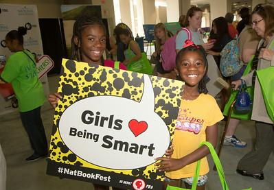 Girls Being Smart   PBS Nia-10 yrs, Aniya-8yrs   Temple Hills, Md