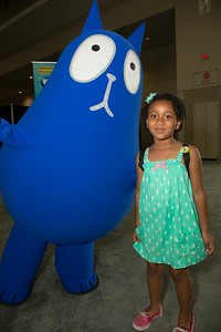 Dylan (5 yrs Upper Marlboro, Md) with Cat from PBS Kids Peg + Cat