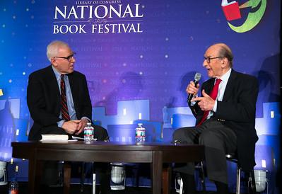 David M. Rubenstein Alan Greenspan