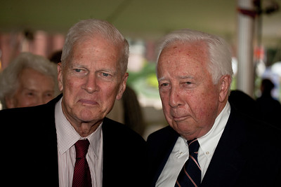 "Librarian of Congress James H. Billington (left) has called David McCullough (right) the ""citizen chronicler"" for his meticulously researched and beautifully written historical books, such as the Pulitzer Prize winners ""Truman"" and ""John Adams,"" the latter of which became an Emmy Award-winning miniseries on HBO. He is also a two-time winner of the National Book Award, for ""The Path Between the Seas"" and ""Mornings on Horseback."" His newest book is ""The Greater Journey: Americans in Paris"" (Simon & Schuster). McCullough has also received the National Book Foundation Distinguished Contribution to American Letters Award, the National Humanities Medal and the Presidential Medal of Freedom."