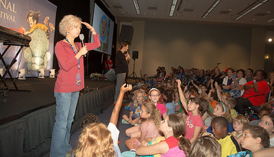 "Kate DiCamillo The National Ambassador for Young People's Literature of the Library of Congress and the Children's Book Council, Kate DiCamillo is the recipient of the 2014 Newbery Medal for her novel ""Flora & Ulysses: The Illuminated Adventures."" This is DiCamillo's second Newbery, which the American Library Association confers for the ""most distinguished contribution to American literature for children."" DiCamillo also won the Newbery for ""The Tale of Despereaux"" in 2004. Her first published novel, ""Because of Winn-Dixie,"" won a Newbery Honor. She says of stories: ""When we read together, we connect. Together, we see the world. Together, we see each other."" DiCamillo celebrates the 10th anniversary of her Mercy Watson series with ""Mercy Watson: Something Wonky This Way Comes"" (Candlewick). Her new book is ""Francine Poulet Meets the Ghost Raccoon"" (Candlewick), which is the second book in the Tales from Deckawoo Drive series—a spinoff from Mercy Watson."